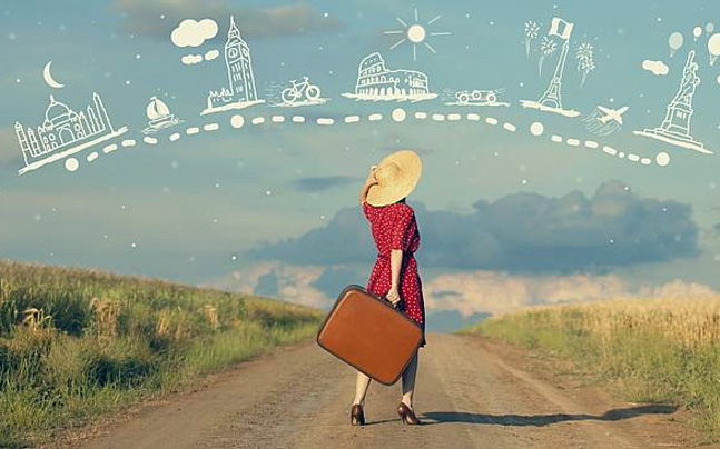 solo female travel, levnstylo